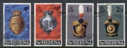 St Helena 1970 Rexgimental Emblems FU - Saint Helena Island