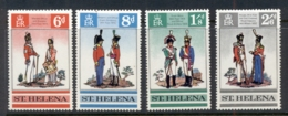 St Helena 1969 British Uniforms MUH - Sainte-Hélène