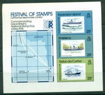 Tristan Da Cunha 1976 Stamp Festival MS MUH Lot21353 - Tristan Da Cunha