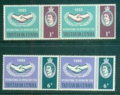 Tristan Da Cunha 1965 ICY Intl. Cooperation Year Pr MUH Lot81262 - Tristan Da Cunha