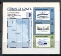 Tristan Da Cunha 1976 Festival Of Stamps MS MUH - Tristan Da Cunha