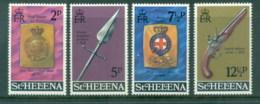 St Helena 1972 Regimental Emblems, Arms MUH - Saint Helena Island