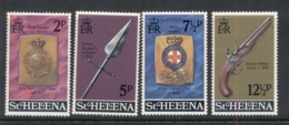 St Helena 1972 Military Emblems MUH - Sainte-Hélène