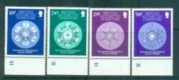 BAT 1986 Intl. Glaciological Society MUH Lot66241 - British Antarctic Territory  (BAT)