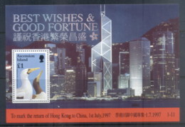 Ascension Is 1997 Return Of Hong Kong To China , Bird MS MUH - Ascension