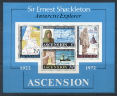 Ascension Is 1972 Ernest Shackleton MS MUH - Ascension (Ile De L')