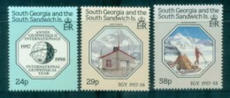 South Georgia 1987 Intl. Geophysical Year MUH Lot76439 - South Georgia