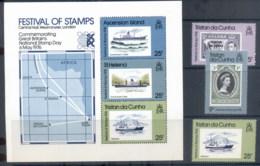 Tristan Da Cunha 1976 Festival Of Stamps + MS MUH - Tristan Da Cunha