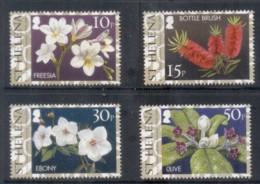 St Helena 2004 Royal Horticultural Society, Flowers MUH - Saint Helena Island