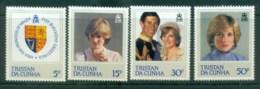 Tristan Da Cunha 1982 Princess Diana 21st Birthday MLH Lot81976 - Tristan Da Cunha