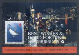 South Georgia 1997 Return Of Hong Kong To China , Bird MS MUH - South Georgia