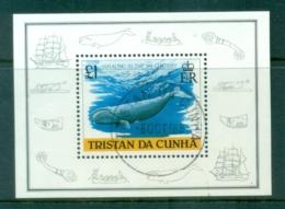 Tristan Da Cunha 1988 Whaling In The 19th Century MS CTO - Tristan Da Cunha