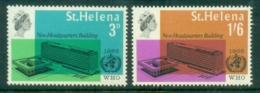 St Helena 1966 WHO Headquarters, Geneva MUH - Saint Helena Island