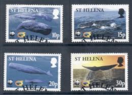 St Helena 2002 WWF Sperm Whale FU - Saint Helena Island
