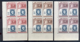 St Helena 1956 Stamp Cent Blk4 MUH - Saint Helena Island