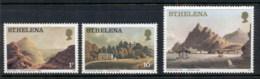 St Helena 1976 Views, 1p, 10p, 2pound MUH - Sainte-Hélène