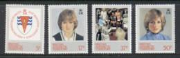 BAT 1982 Royal Wedding Charles & Diana MUH - British Antarctic Territory  (BAT)