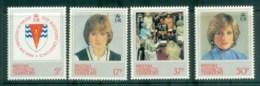 BAT 1982 Princess Diana 21st Birthday MLH Lot81963 - British Antarctic Territory  (BAT)