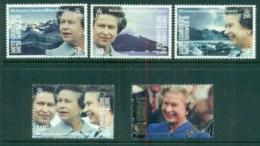 South Georgia 1992 QEII Royal Accession To Throne, 40th Anniversary MUH - South Georgia