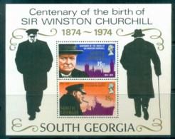 South Georgia 1974 Winston Churchill MS MUH - South Georgia