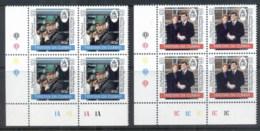Tristan Da Cunha 1986 Royal Wedding, Andrew & Sarah Blk4 MUH - Tristan Da Cunha