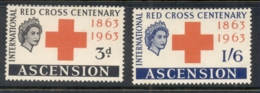 Ascension Is 1963 Red Cross MLH - Ascension