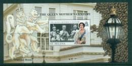 St Helena 1999 Queen Mother's Century, Royalty MS MUH - Saint Helena Island