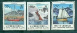 South Georgia 1995 Yachts MUH Lot76454 - South Georgia