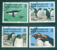 South Georgia 1993 Macaroni Penguins FU Lot78014 - South Georgia