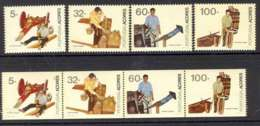 Azores 1990 Professions + Booklet Pane MUH Lot7399 - French Southern And Antarctic Territories (TAAF)