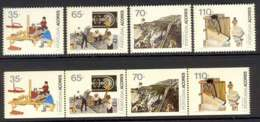 Azores 1992 Professions + Booklet Pane MUH Lot7402 - French Southern And Antarctic Territories (TAAF)