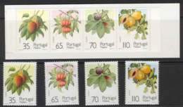Madeira 1991 Fruit + Booklet MUH Lot7459 - French Southern And Antarctic Territories (TAAF)