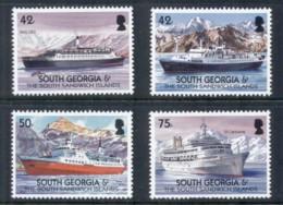 South Georgia 2004 Merchant Ships MUH - South Georgia