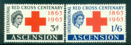 Ascension Is 1963 Red Cross MUH Lot66122 - Ascension