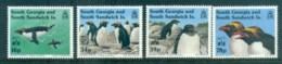 South Georgia 1993 Macaroni Penguins Opt Hong Kong MUH Lot76450 - South Georgia