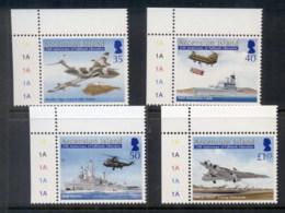 Ascension Is 2007 Falkland's War 25th Anniv, Ships, Planes MUH - Ascension (Ile De L')