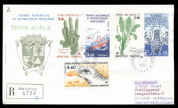French Antarctic Territory 1986 Sea Grass, Ships, Bird Cover - French Southern And Antarctic Territories (TAAF)