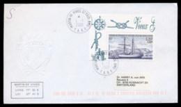 French Antarctic Territory 2001 Sailing Ship Carmen Cover - French Southern And Antarctic Territories (TAAF)