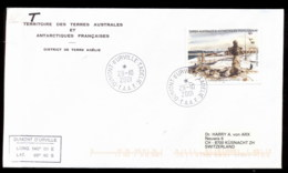French Antarctic Territory 2001 Base At D'Urville Cover - French Southern And Antarctic Territories (TAAF)