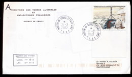 French Antarctic Territory 2002 Ice Pack Cover - French Southern And Antarctic Territories (TAAF)