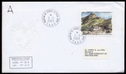 French Antarctic Territory 2003 Ruins Of Lobster Cannery Cover - French Southern And Antarctic Territories (TAAF)