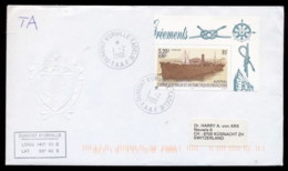 French Antarctic Territory 2001 Ships, Austral Cover - French Southern And Antarctic Territories (TAAF)