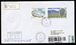 French Antarctic Territory 2001 Minerals, Plants Cover - French Southern And Antarctic Territories (TAAF)