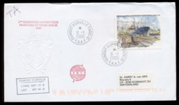 French Antarctic Territory 2000 Ships, Reunion Port Cover - French Southern And Antarctic Territories (TAAF)