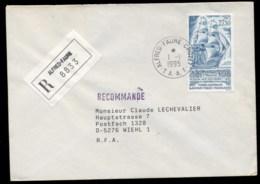 French Antarctic Territory 1995 Sailing Ship The Heroin Cover - French Southern And Antarctic Territories (TAAF)