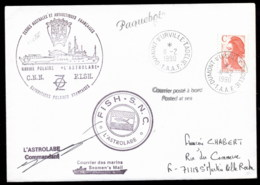 French Antarctic Territory 1990 Astrolabe Ship Cover - French Southern And Antarctic Territories (TAAF)