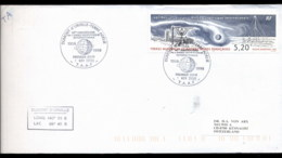 French Antarctic Territory 1998 Geophysical Year FDC - French Southern And Antarctic Territories (TAAF)