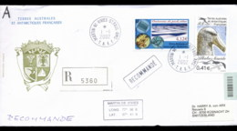French Antarctic Territory 2002 Diatoms In Pack Ice, Albatros, Bird Cover - French Southern And Antarctic Territories (TAAF)
