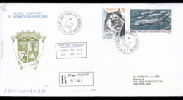 French Antarctic Territory 2000 Husky, Fish Cover - French Southern And Antarctic Territories (TAAF)