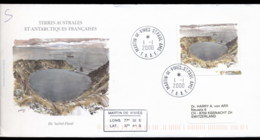 French Antarctic Territory 2000 Ile St Paul, Crater Lake Cover - French Southern And Antarctic Territories (TAAF)